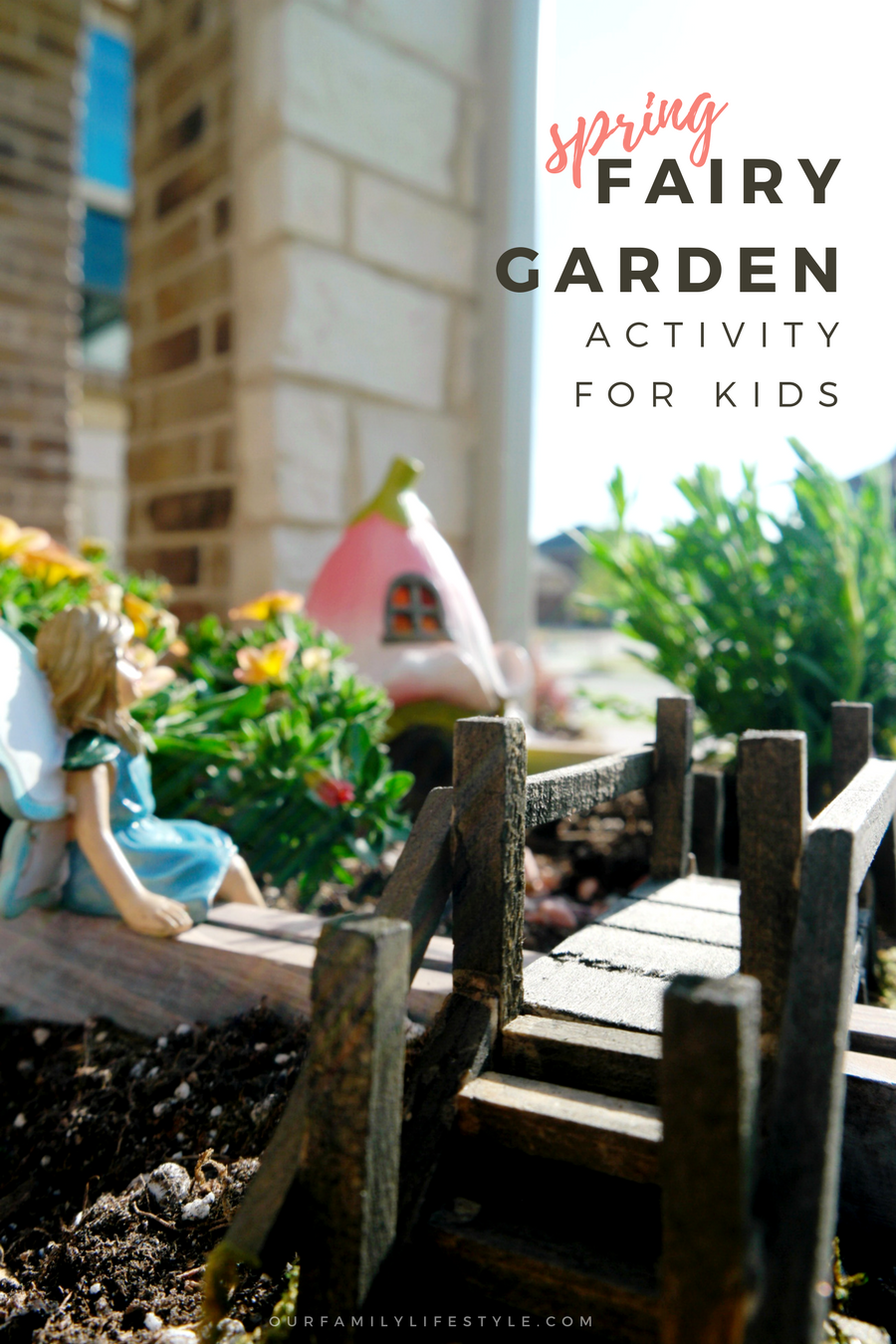 Spring Fairy Garden Activity for Kids