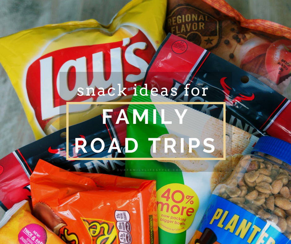 Snack Ideas for Family Road Trips