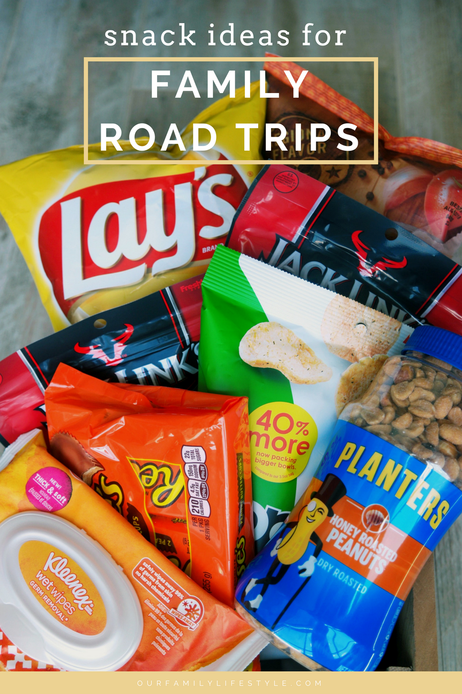 Snacks Ideas for Family Road Trips