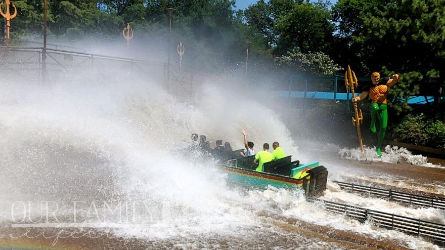 AQUAMAN Splashdown