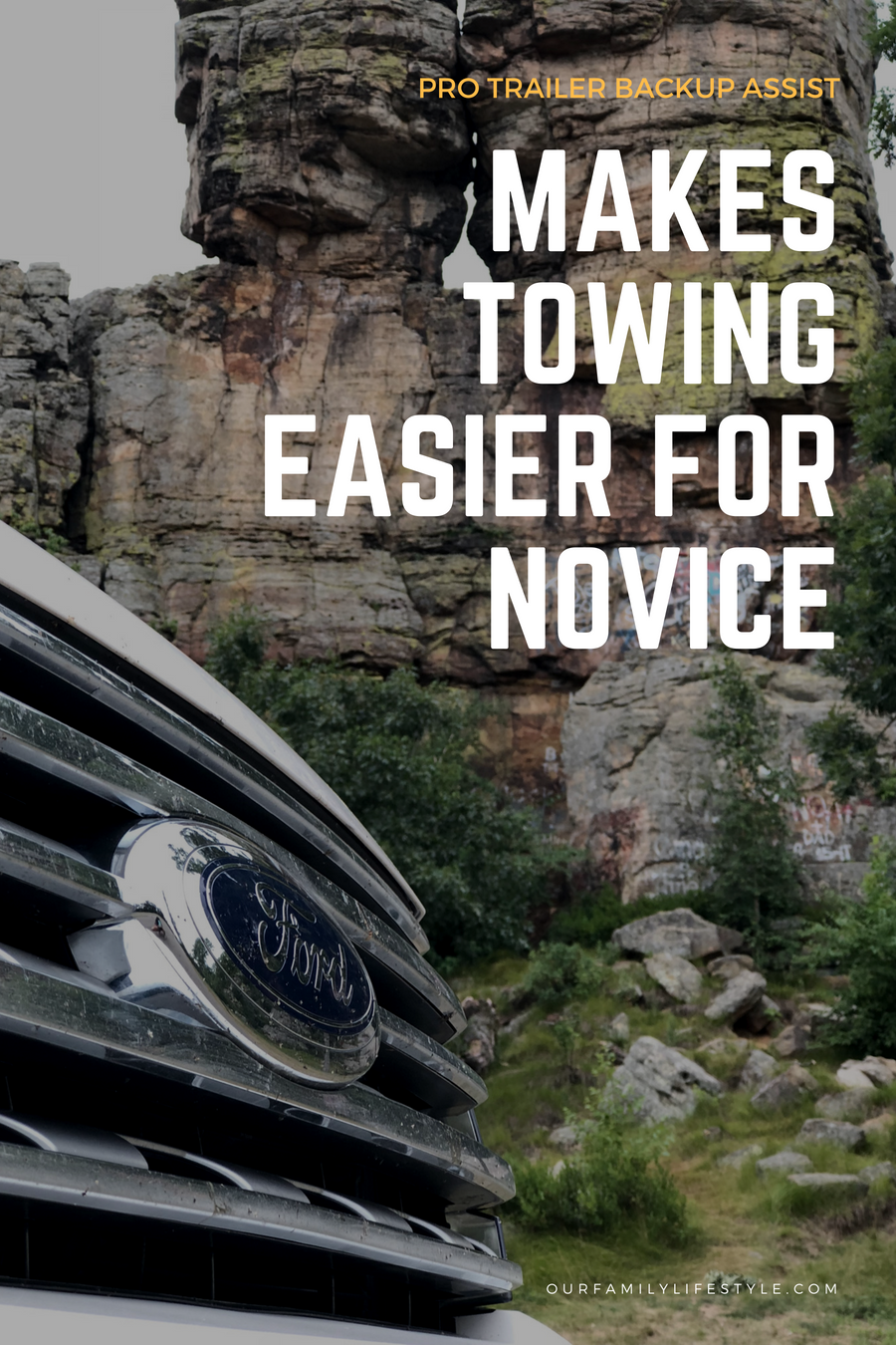 Ford's Pro Trailer Backup Assist Makes Towing Easier for Novice