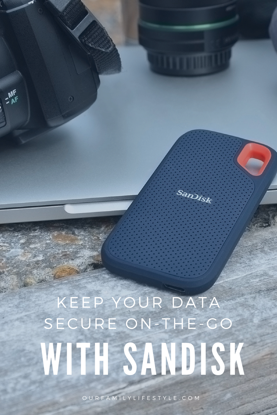 The SanDisk portable SSD, available at Best Buy, features a compact size and water-resistant construction, making it ideal for use on-the-go.