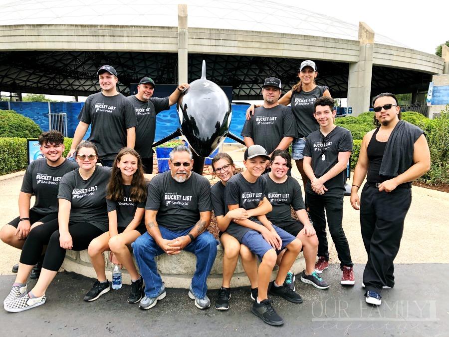 making new memories at SeaWorld
