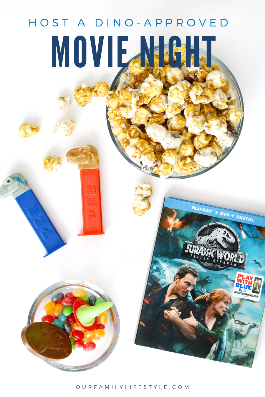 Host a Dino-approved Movie Night