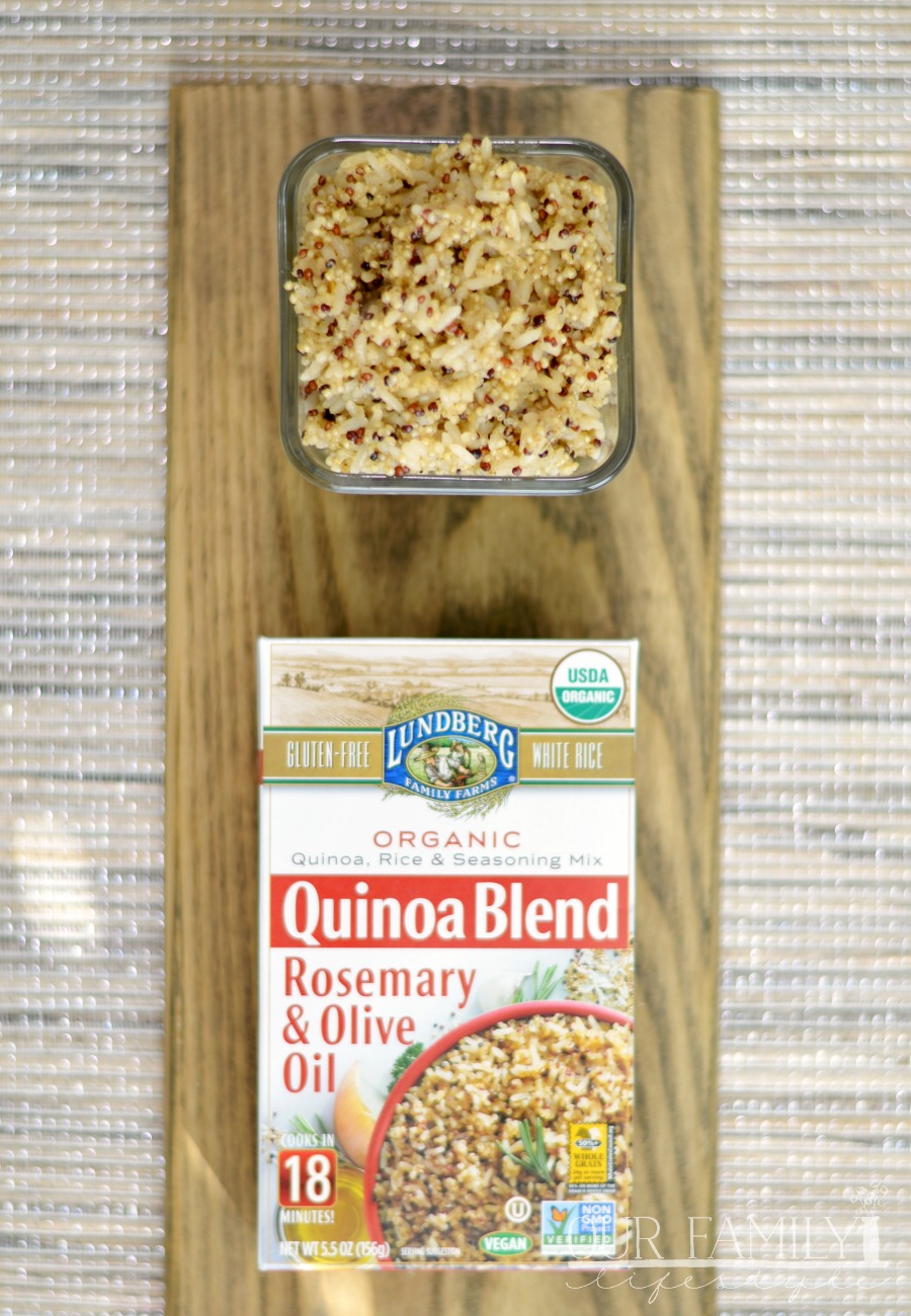 Lundberg: White Rice & Quinoa Entrees