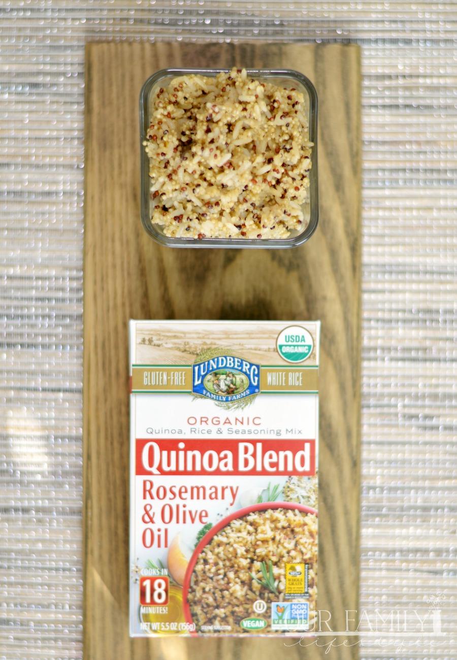 Lundberg: White Rice & Quinoa Entrees