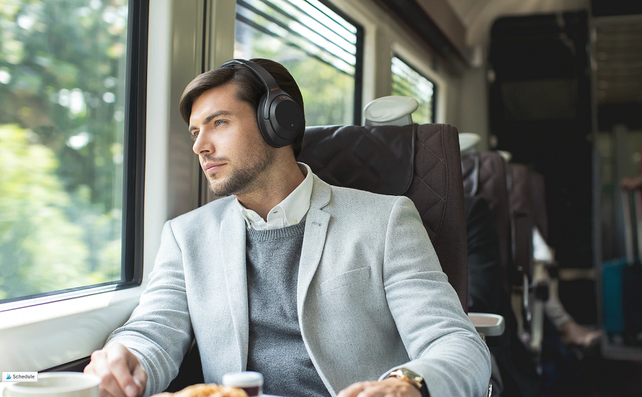 Block More Sound with Sony WH-1000XM3 Noise-Canceling Headphones