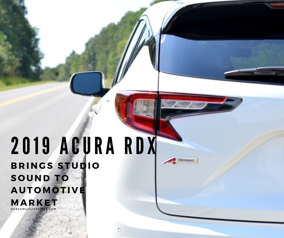 2019 Acura RDX Brings Studio Sound To Automotive Market