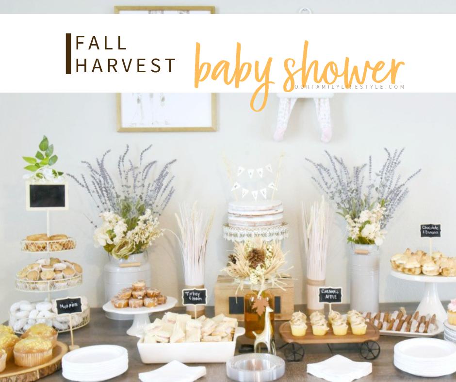 Fall Harvest Baby Shower