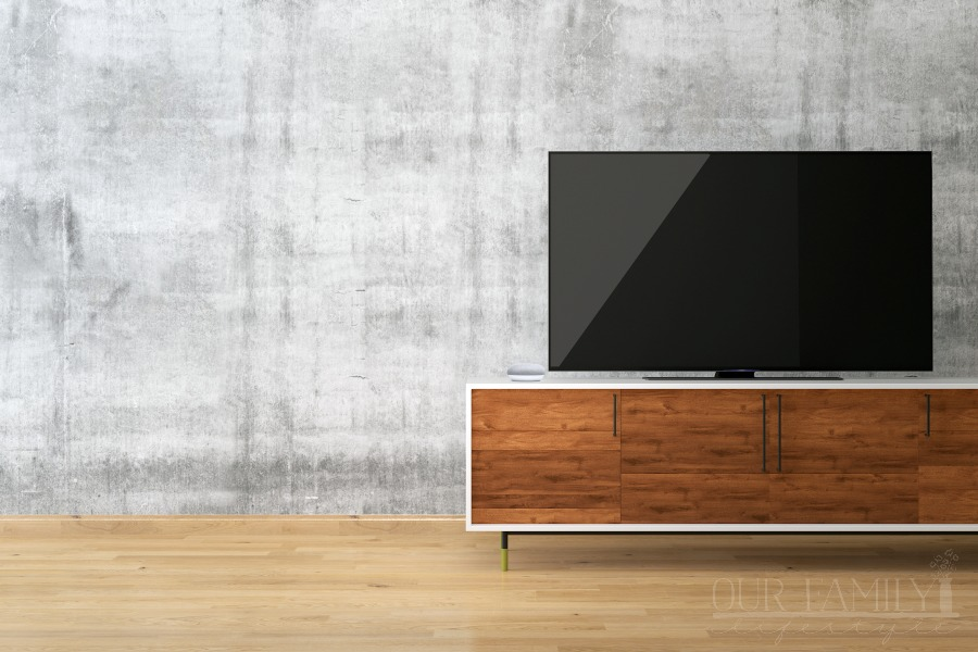 LED TV with Google Home