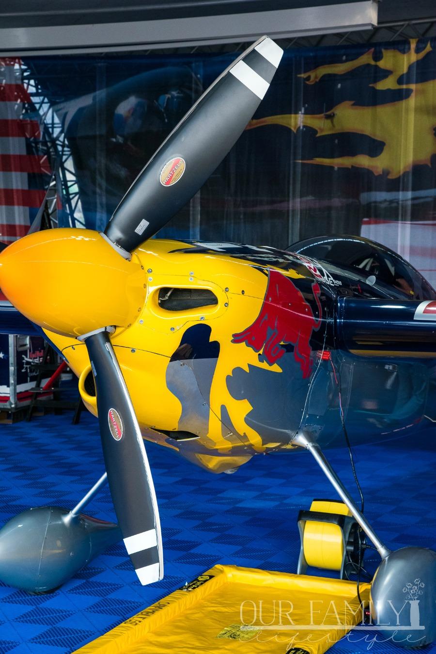 Red Bull Air Race Hangar Viewing