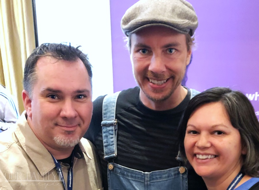 Colby and I with Dax Shepard