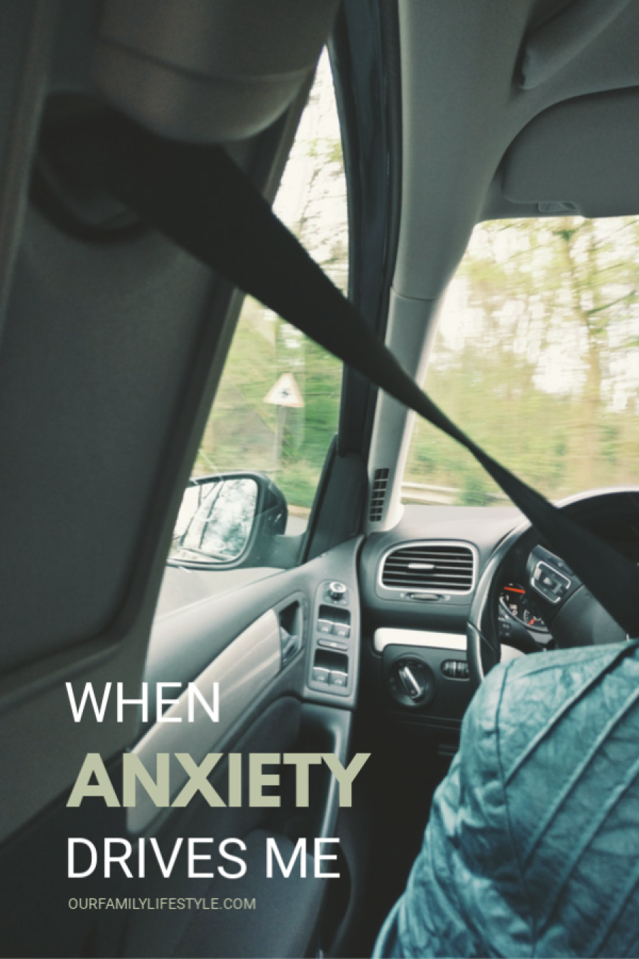 When Anxiety Drives Me