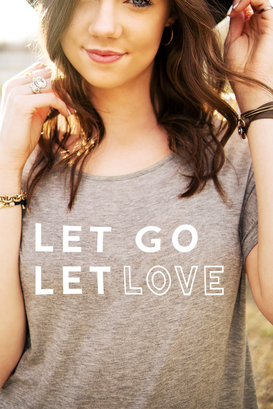 Let Go Let Love shirt