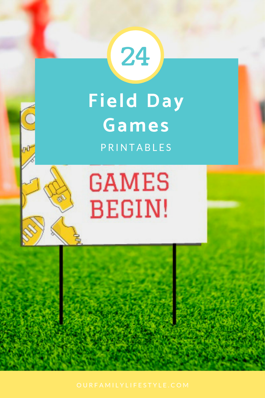 24 Field Day Games Printables