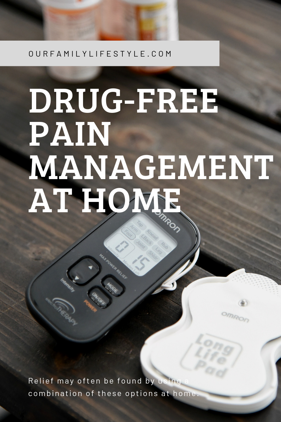 4 Steps To Drug-free Pain Management at Home