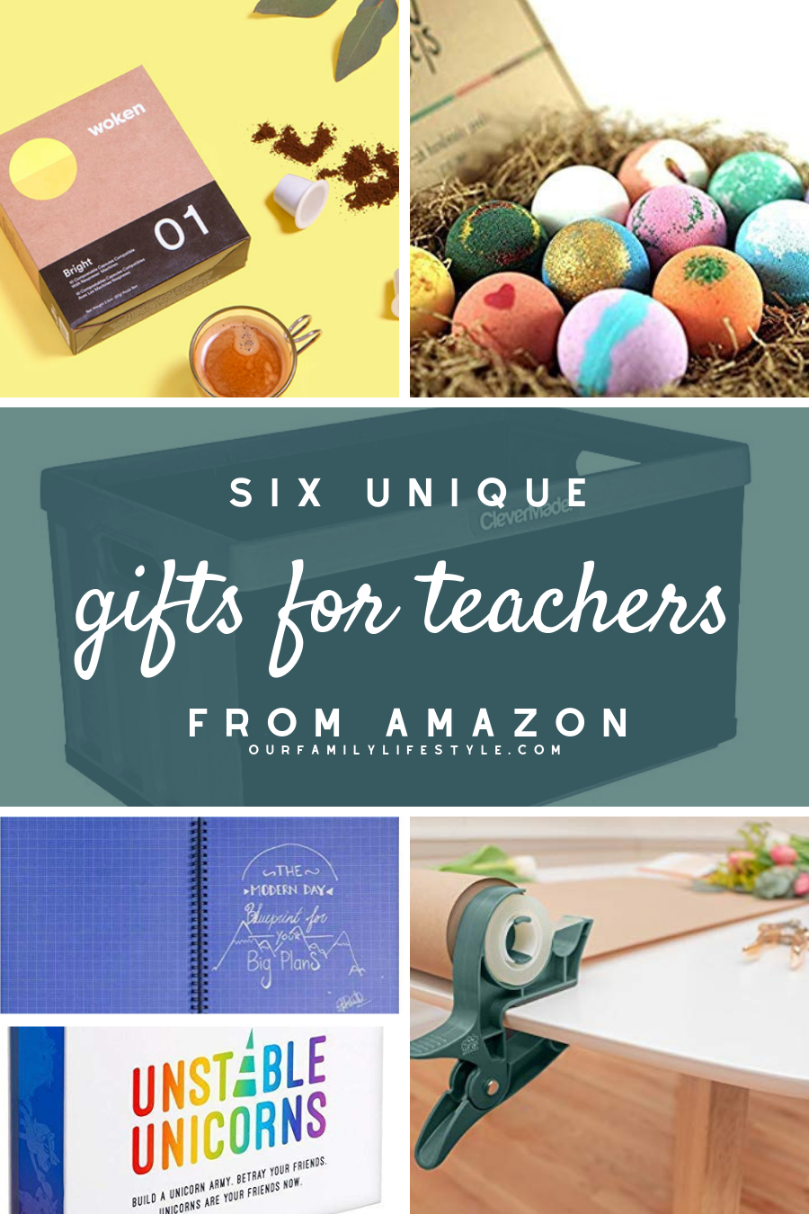 6 Unique Gifts for Teachers from Amazon