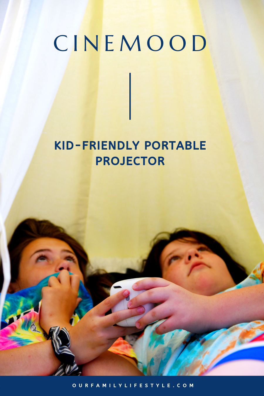 CINEMOOD Kid-Friendly Portable Projector