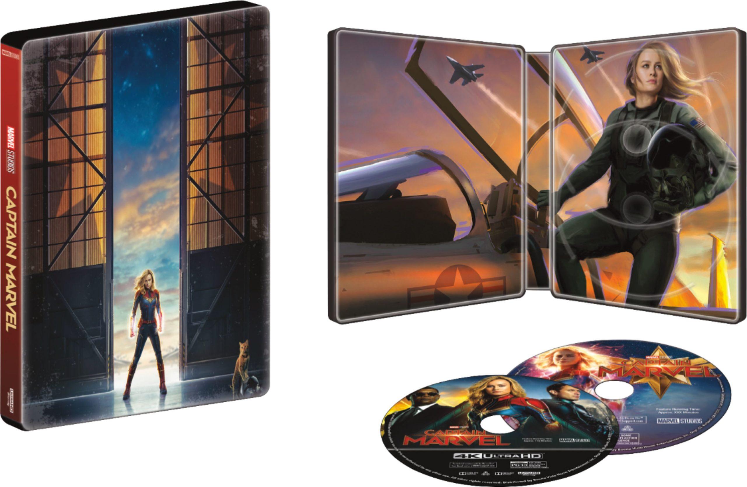 Captain Marvel Exclusive SteelBook at Best Buy
