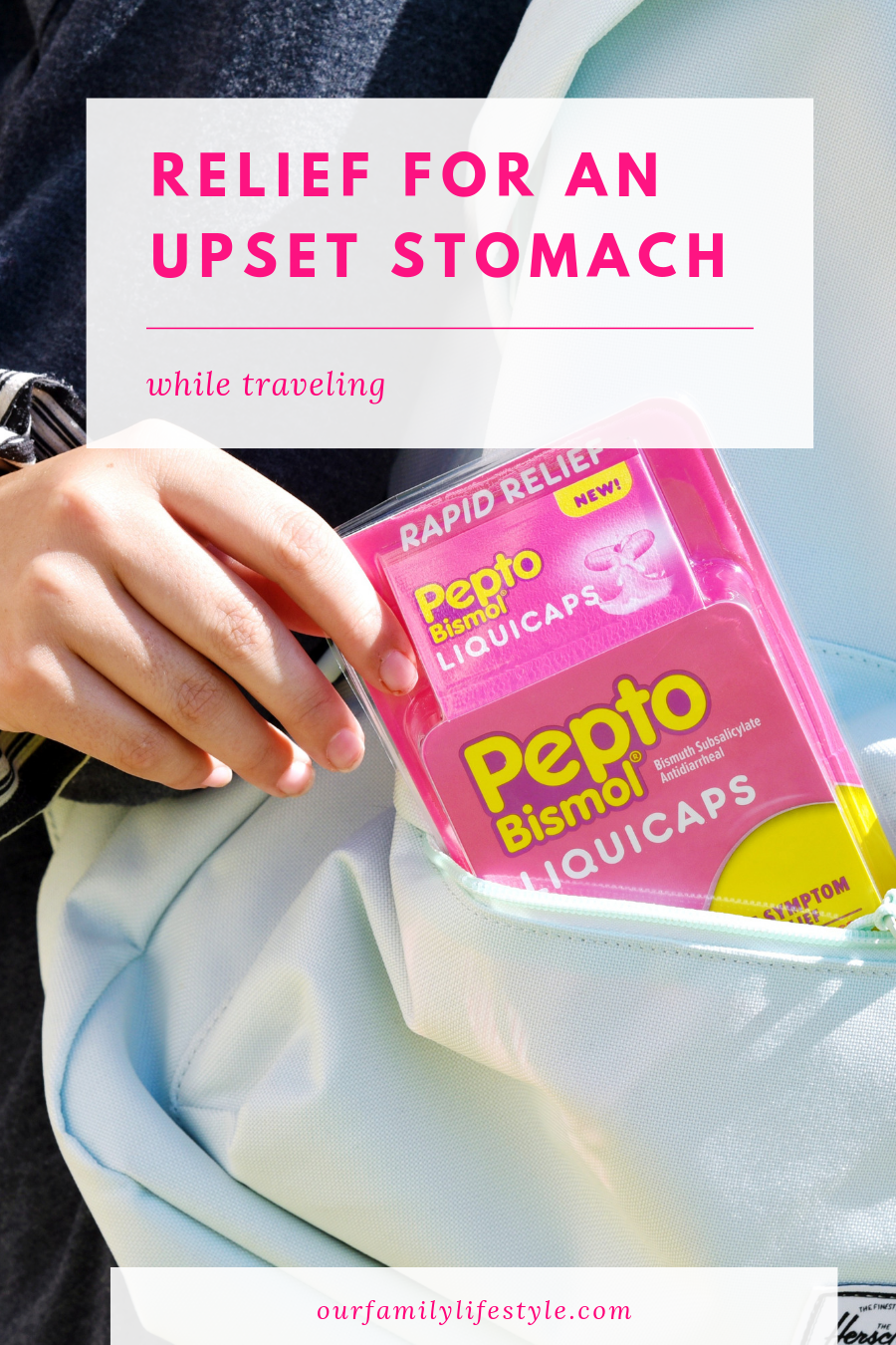 Relief for an Upset Stomach While Traveling