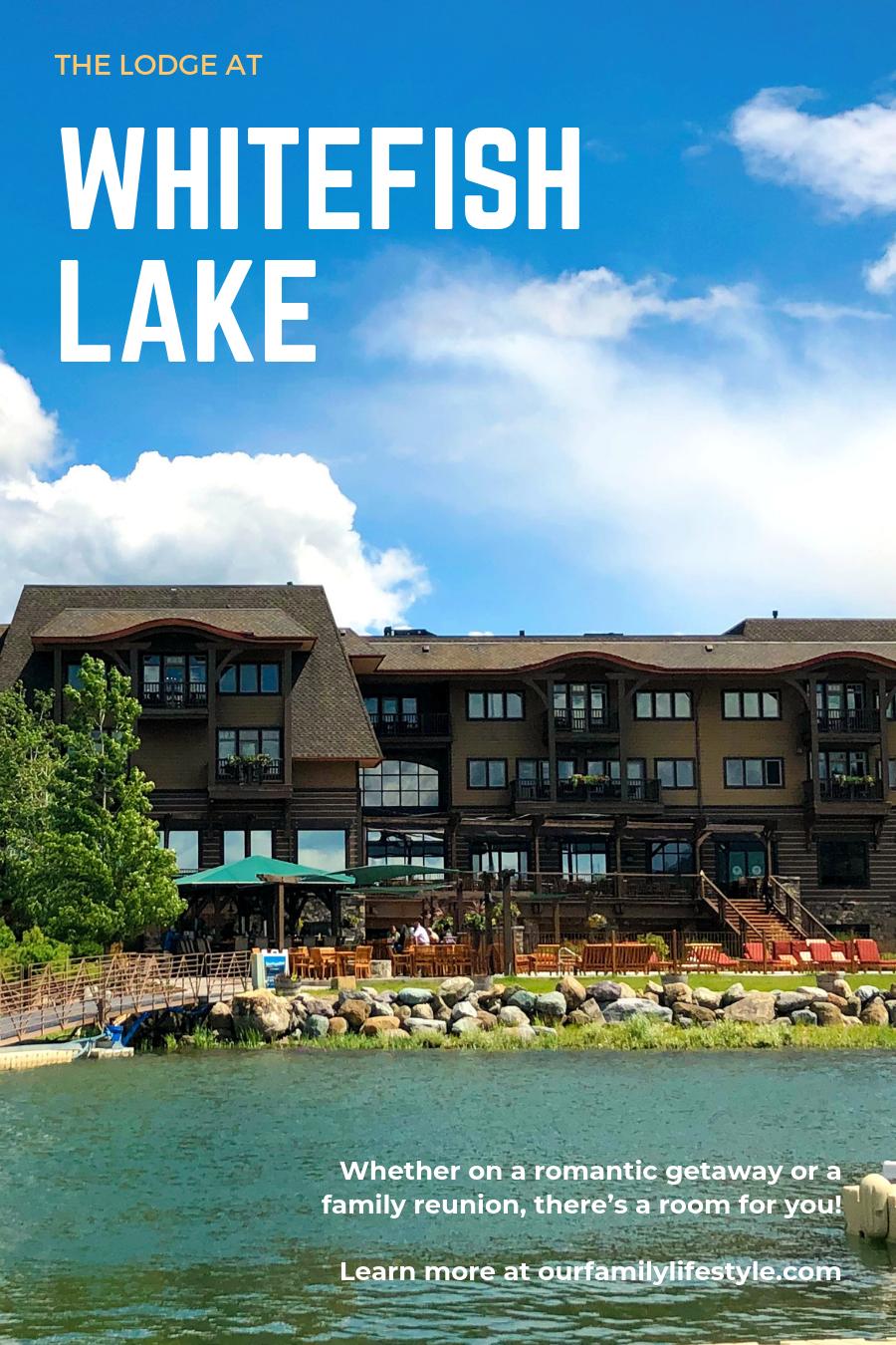 The Lodge at Whitefish Lake Montana