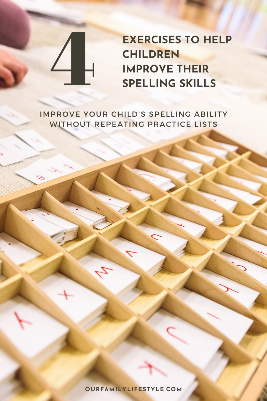 4 Great Exercises To Help Children Improve Their Spelling Skills