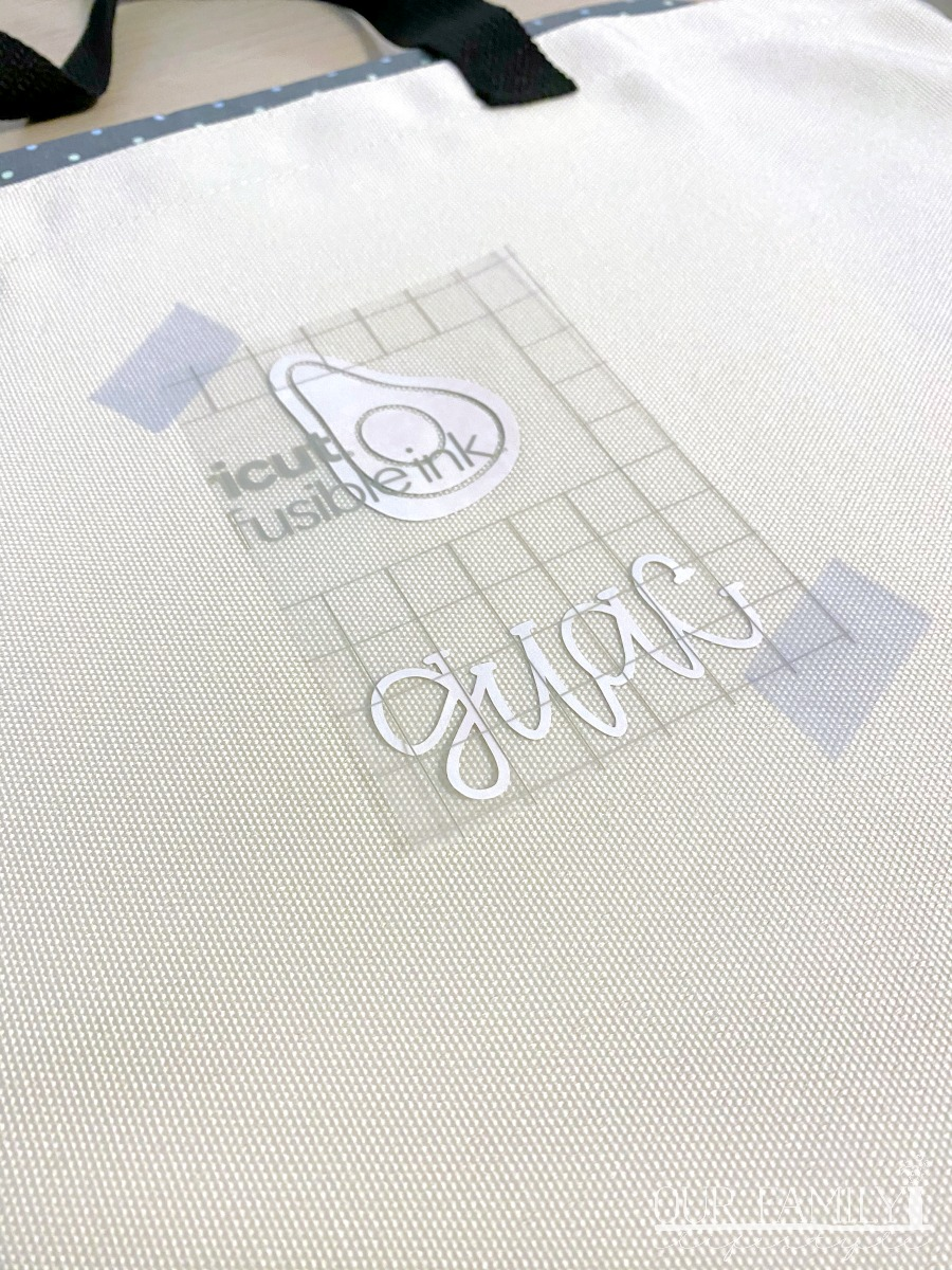 Cricut Infusible Ink and Heat Transfer Tape