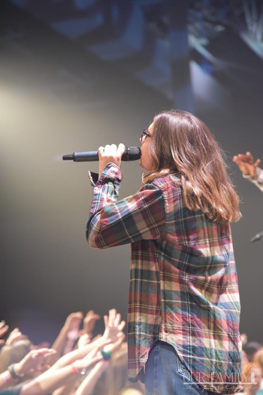 Jaden on stage