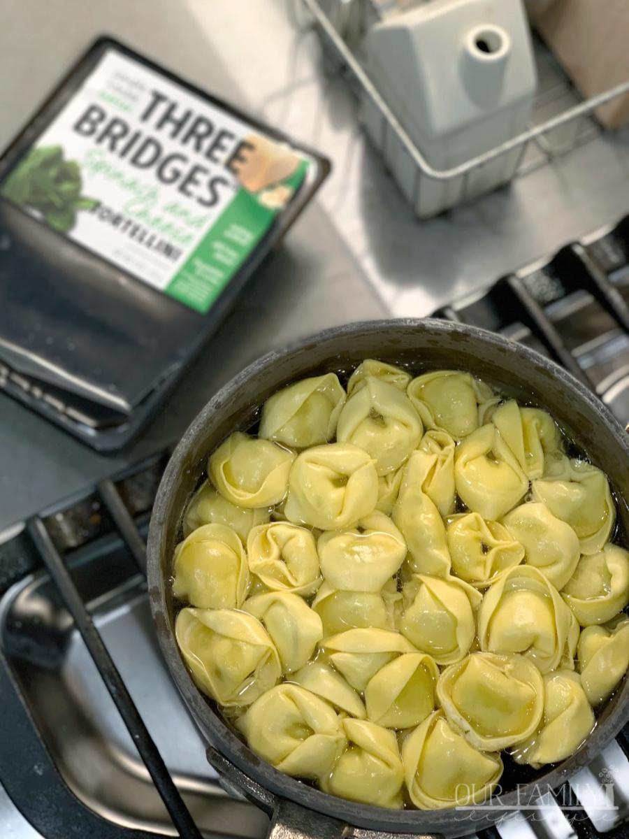 Three Bridges Spinach and Cheese Tortellini