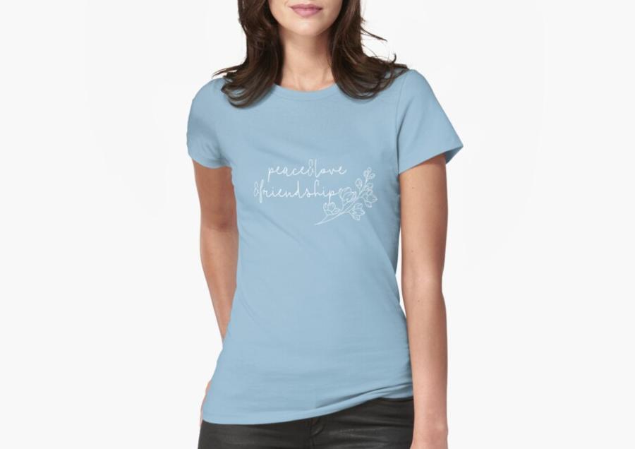 peace love friendships shirt