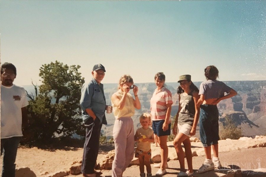 RV road trip to Grand Canyon in 80s