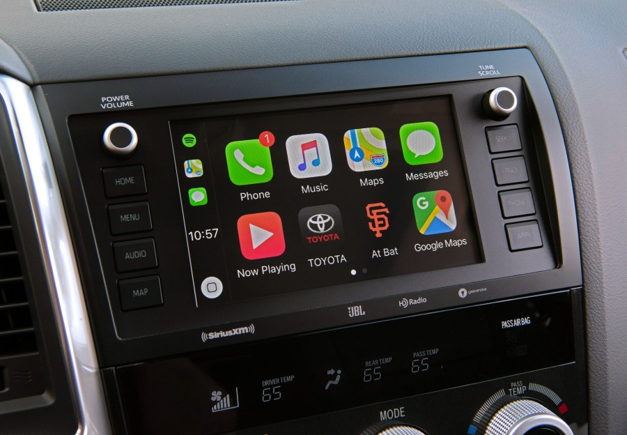 2020_Toyota_Sequoia_TRD_Pro_7.0-in. touch-screen