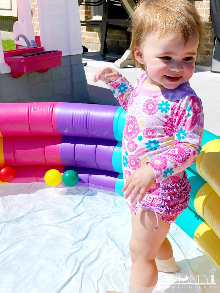 more toddler pool time