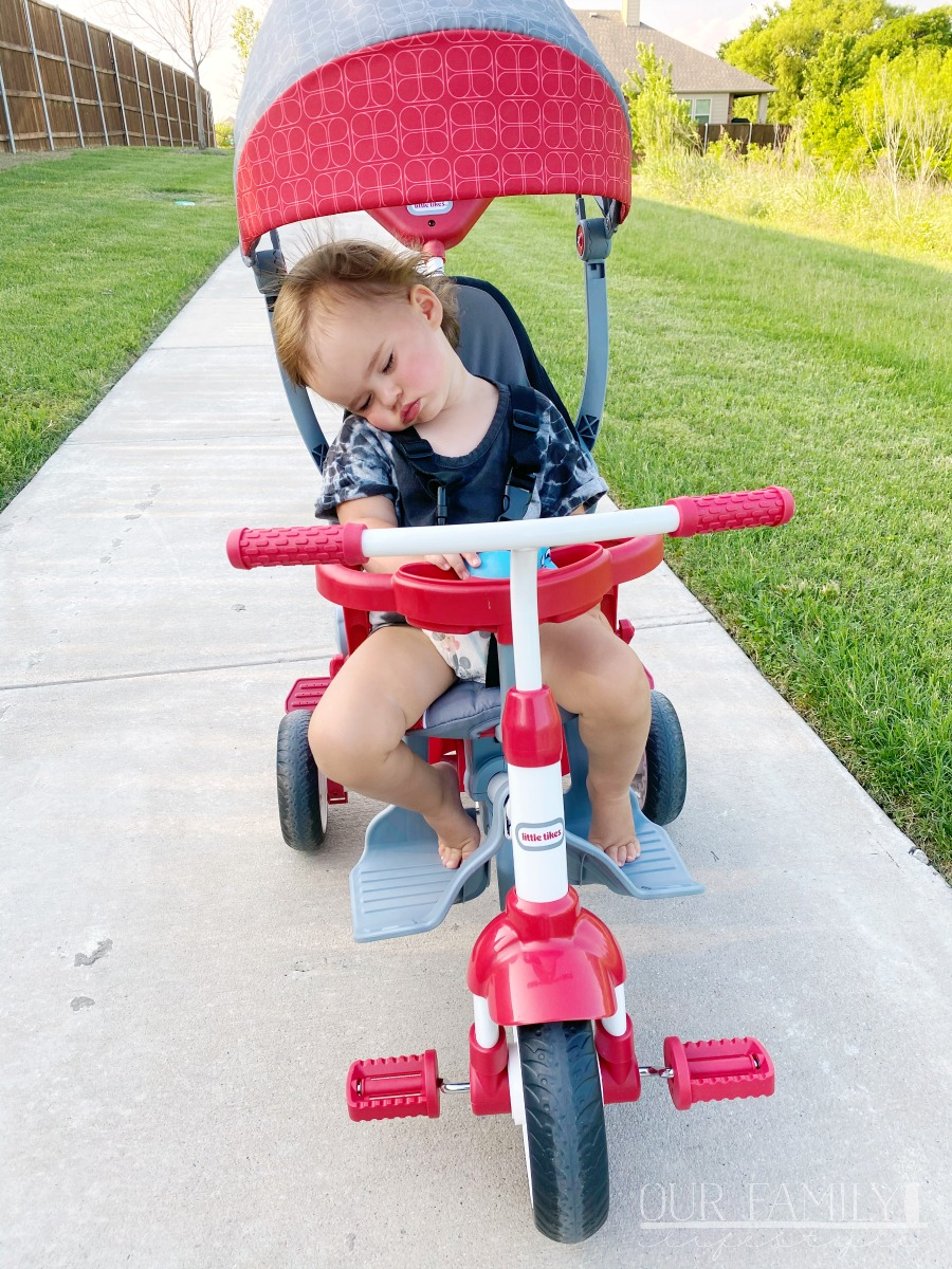 Little Tikes toddler bike for walks