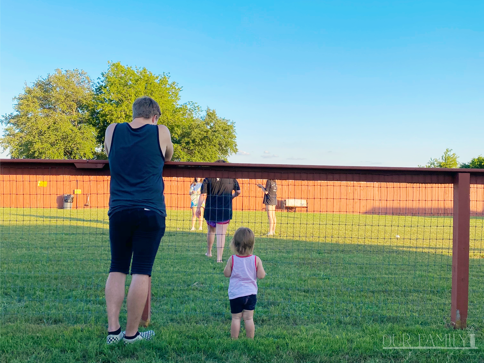 family time at Austin KOA