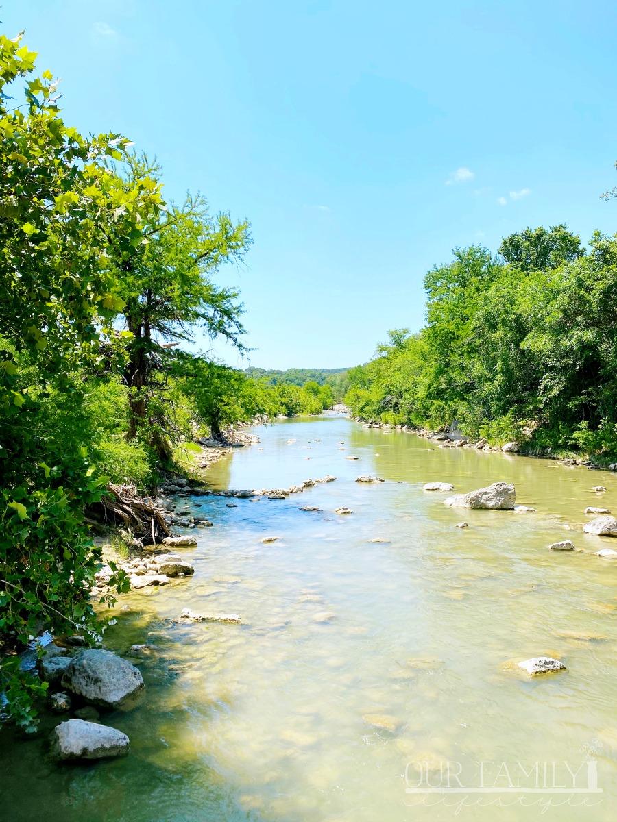 Pedernales River Texas