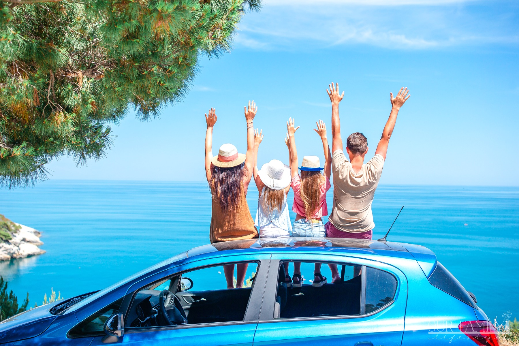 5 Benefits of a Family Road Trip