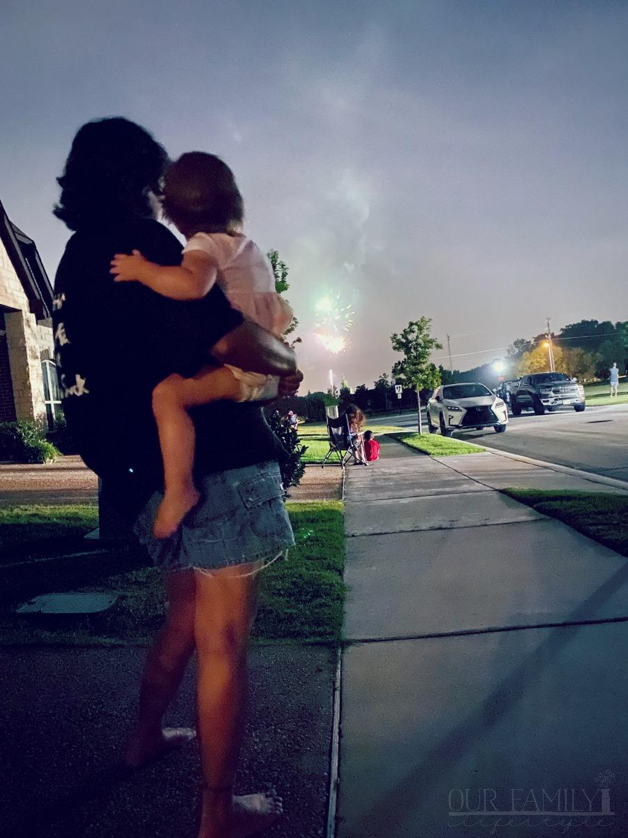 neighborhood fireworks 2020