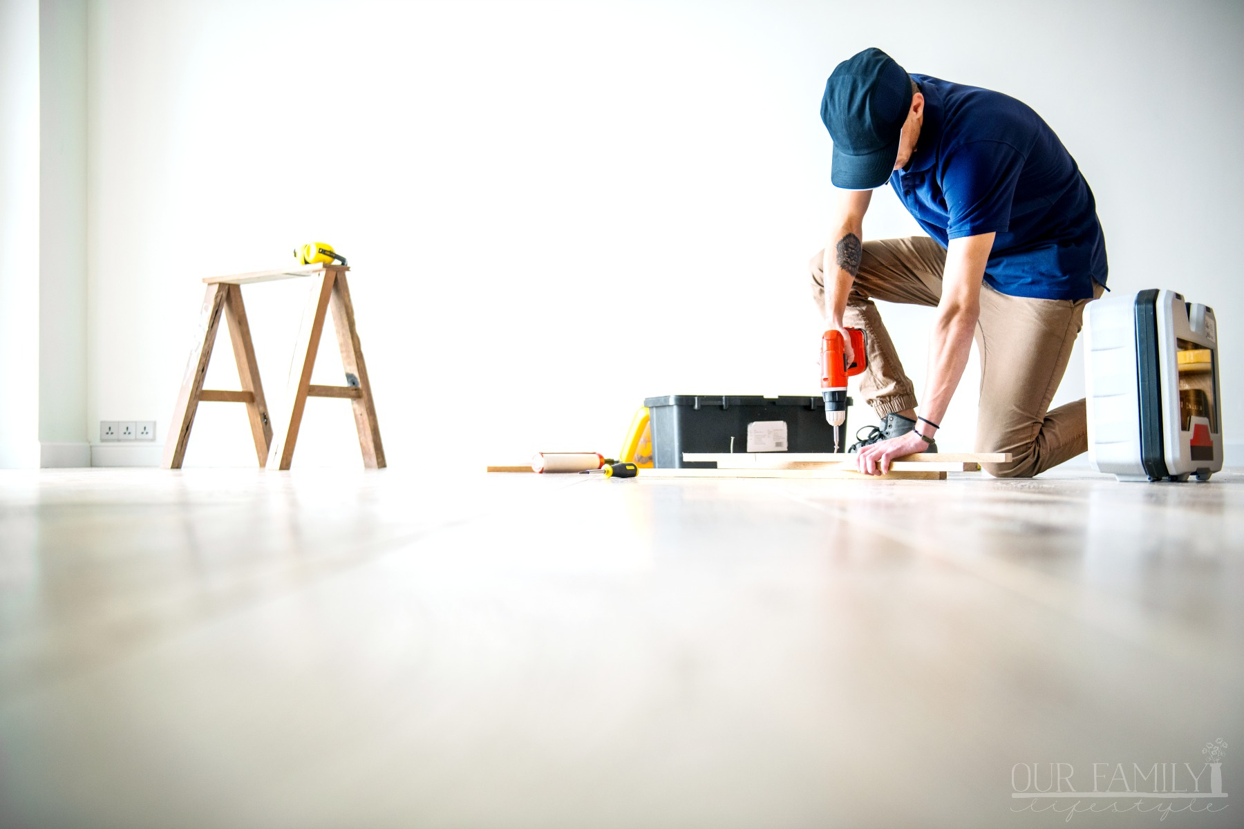 7 Easy Ways to Help Your Household Make It During a Summer Renovation