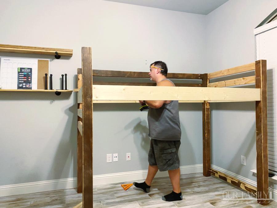 building a loft bed