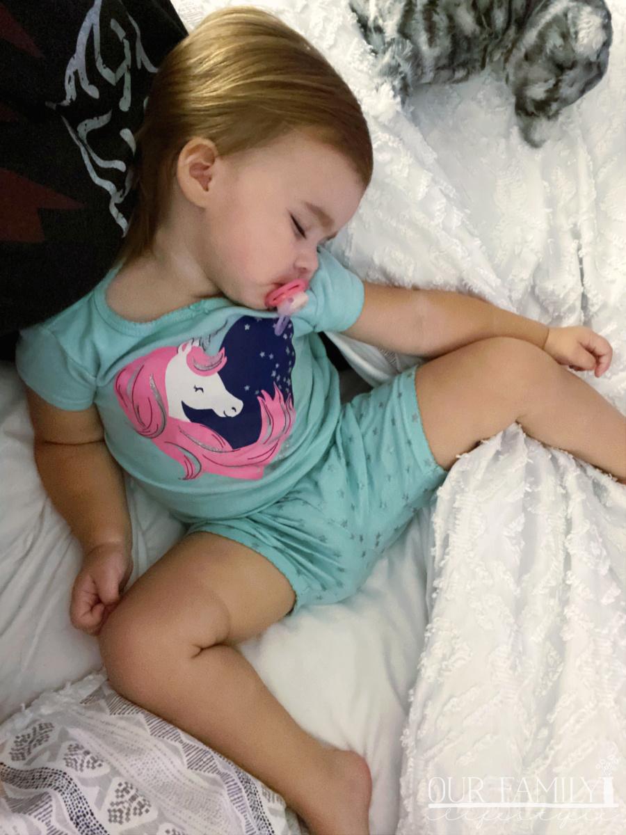 grand daughter sleepover
