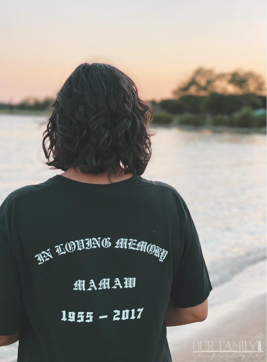 sunset memories at the lake