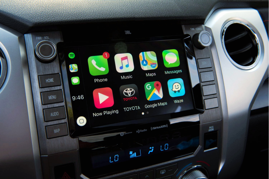 2020 Toyota Tundra TRD PRO Apple CarPlay