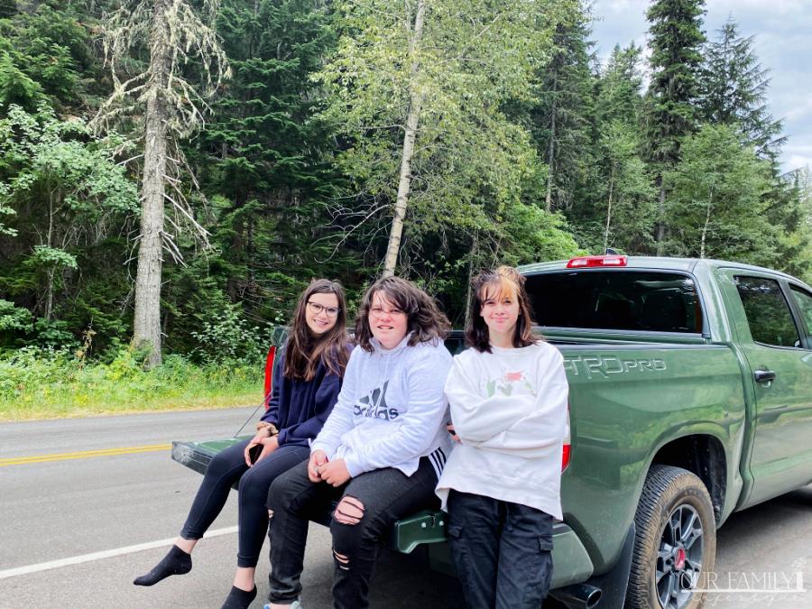 2020 Toyota Tundra TRD PRO family road trip