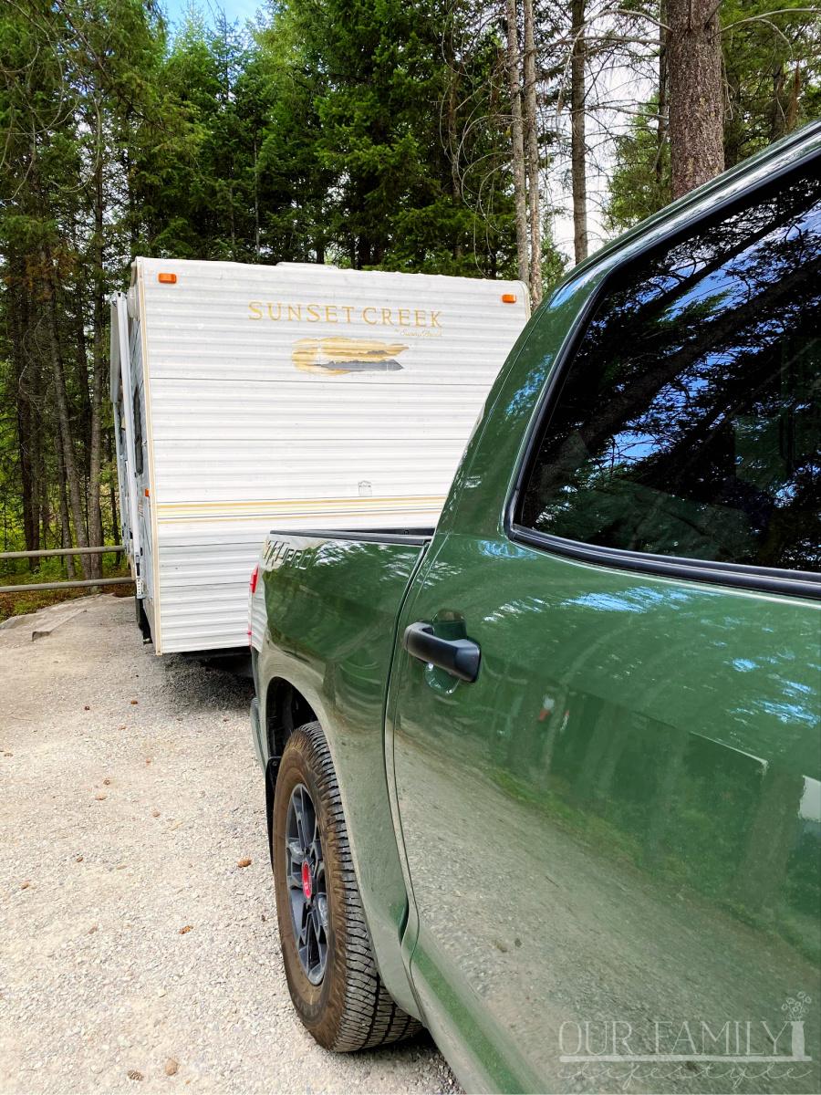 Toyota Tundra TRD PRO Towing Capacity