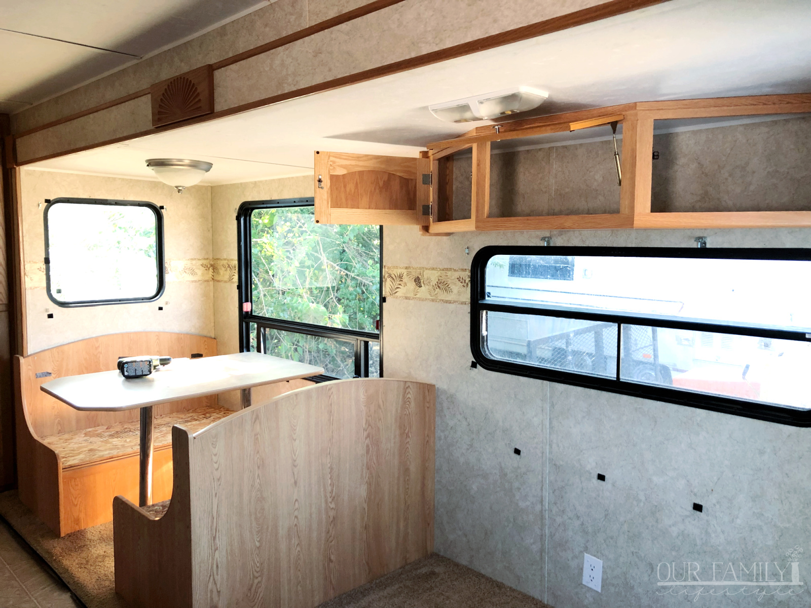 gutting an rv for renovations