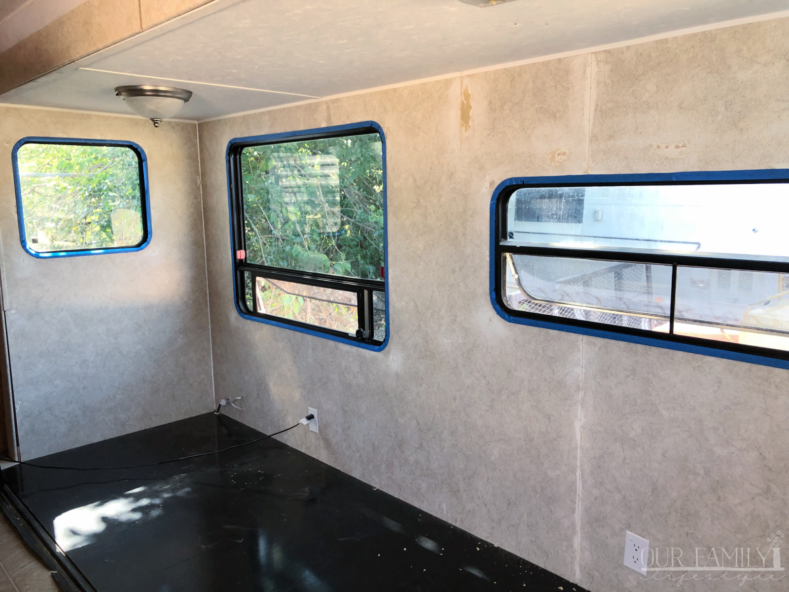 prep rv walls for paint