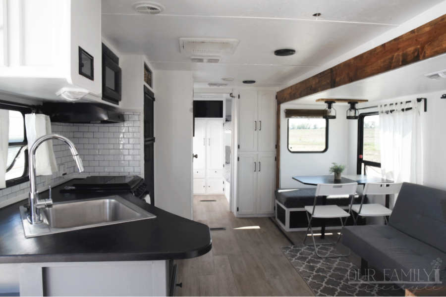 travel trailer remodel