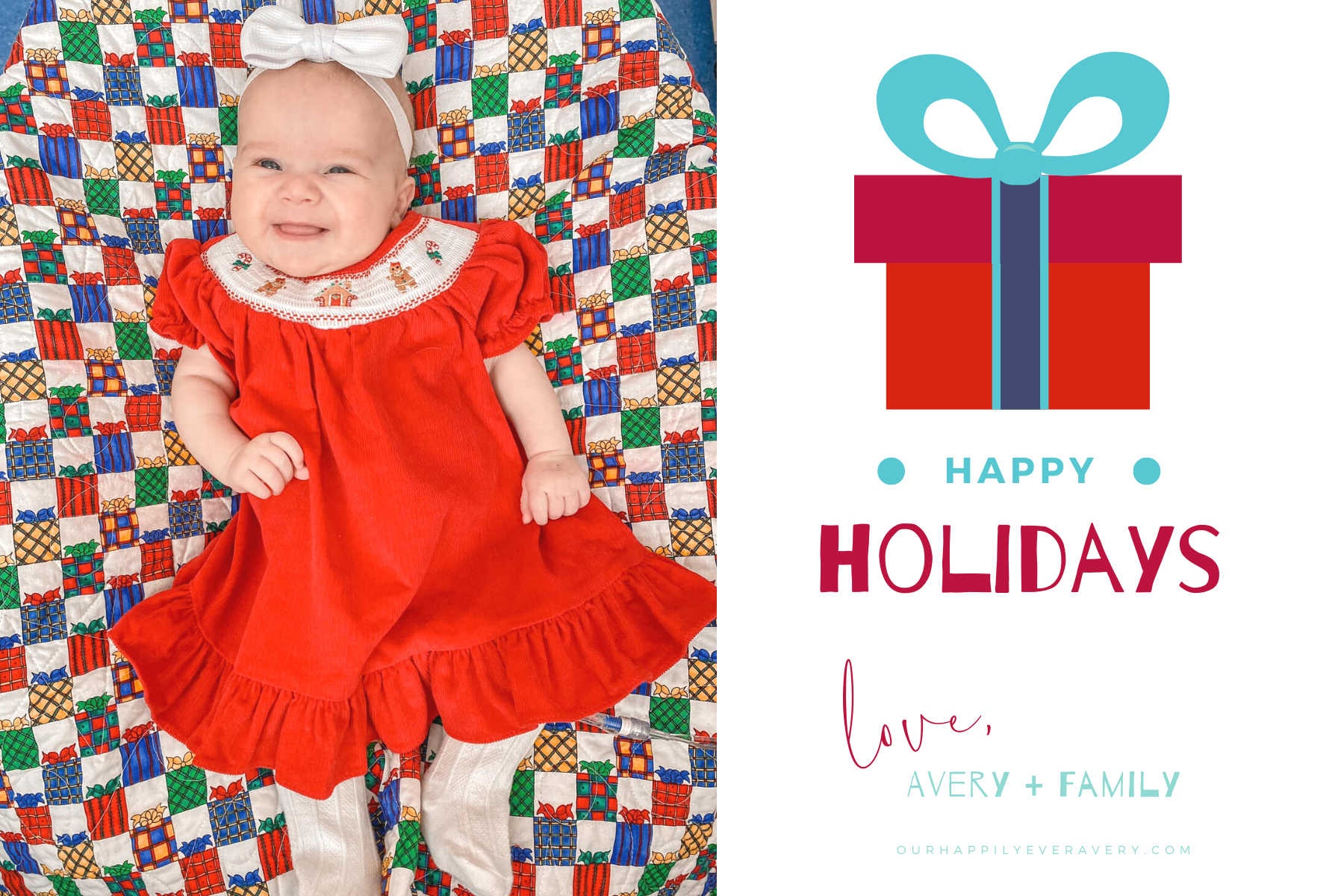 """Happily Ever Avery // Hard to Say, """"Merry Christmas"""""""