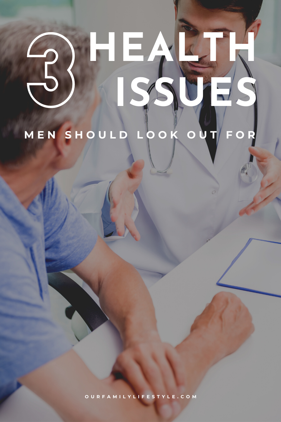 3 Health Issues Men Should Look Out For